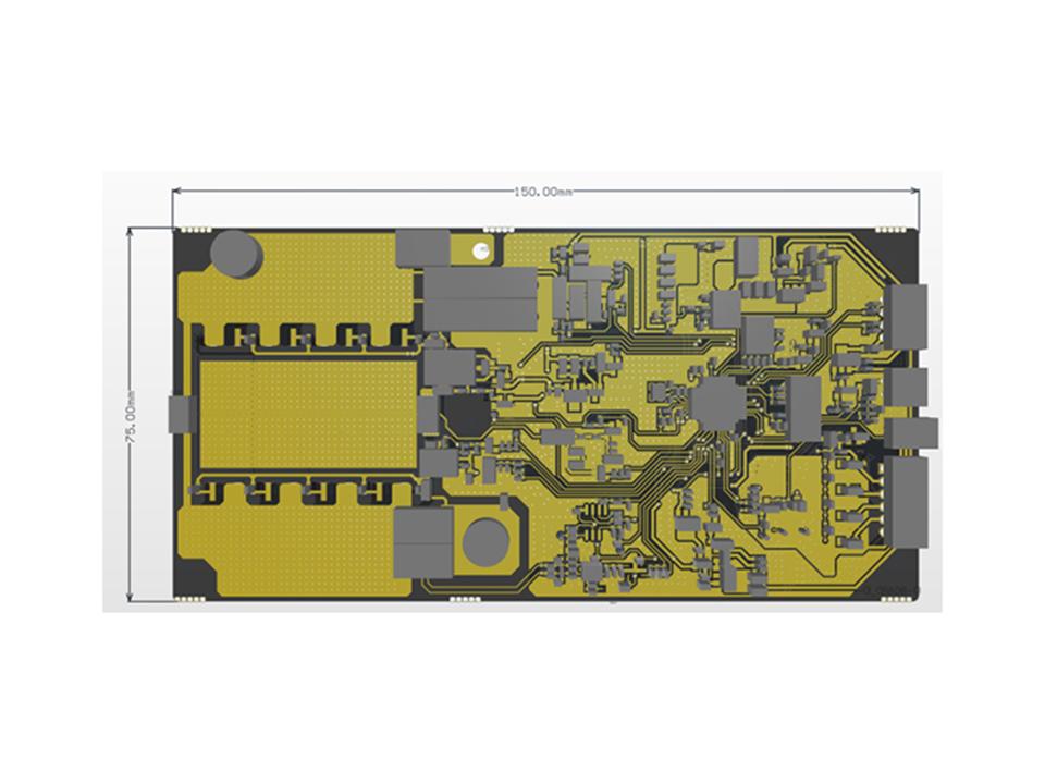 4S50A MOS 通讯基站储能锂电池保护板