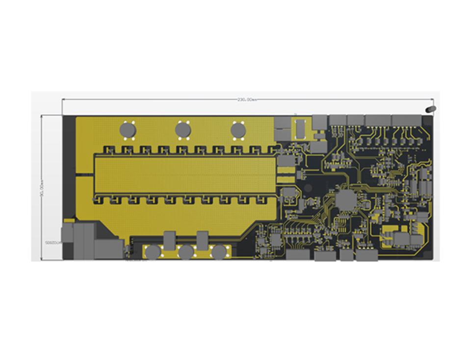 031V01 MOS bms功能锂电池保护板