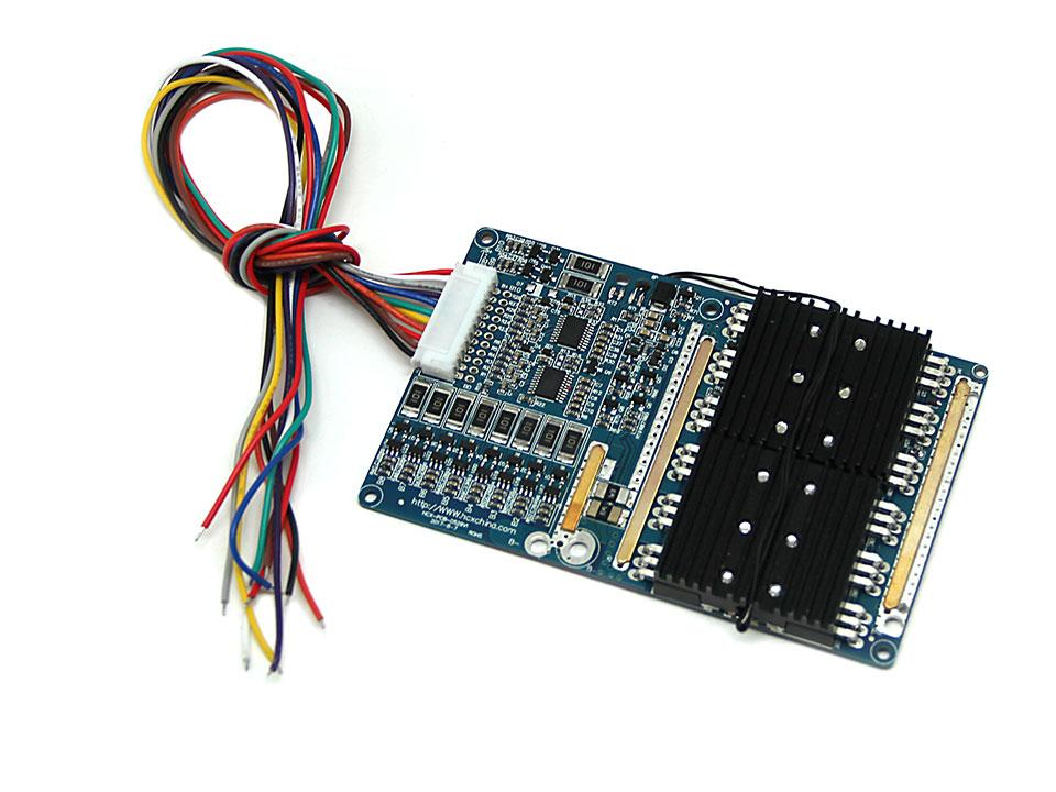 7串20A同口无均衡锂电池保护板方案