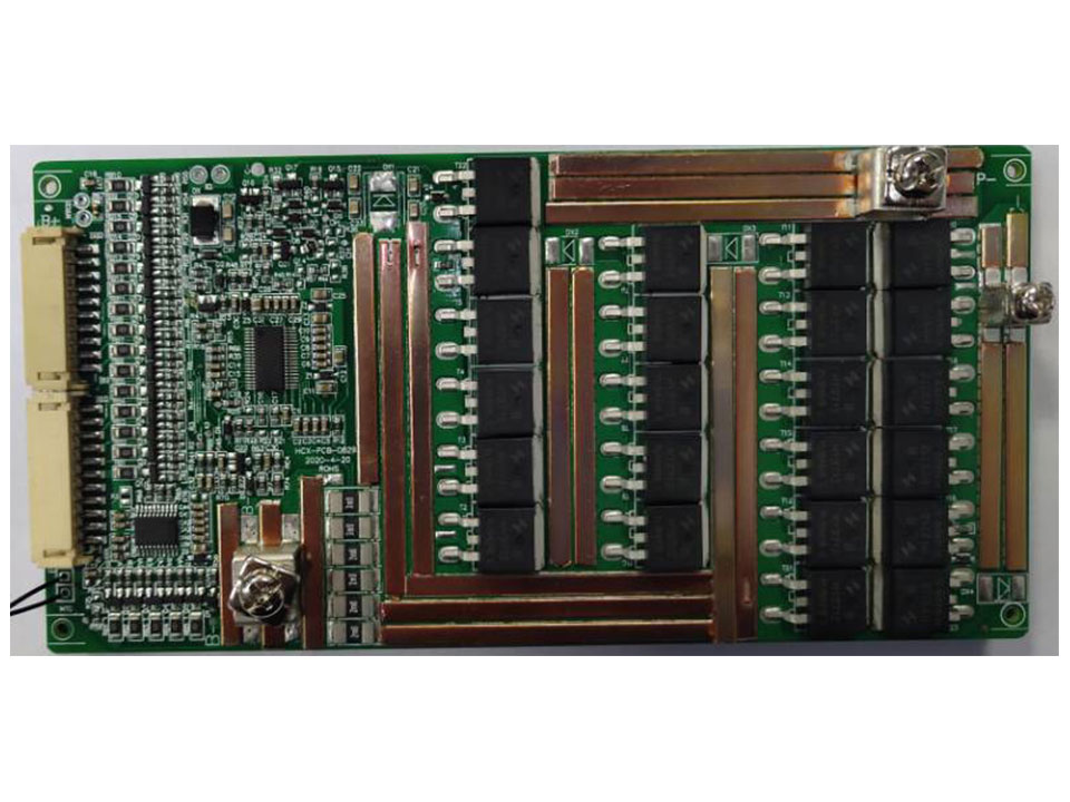 20串80A分口铁锂电池保护板方案