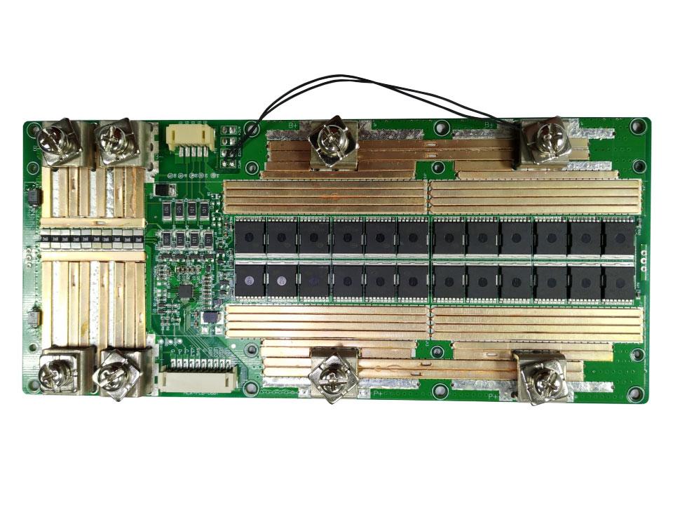 4串铁锂同口100A电池保护板方案