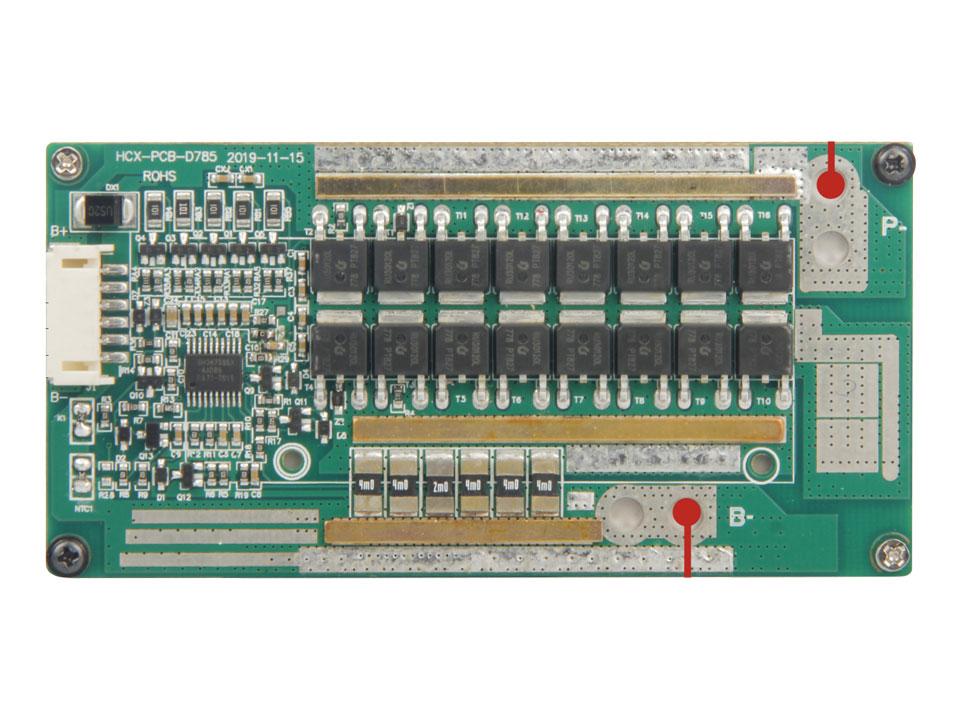 3串36A同口锂电池保护板方案