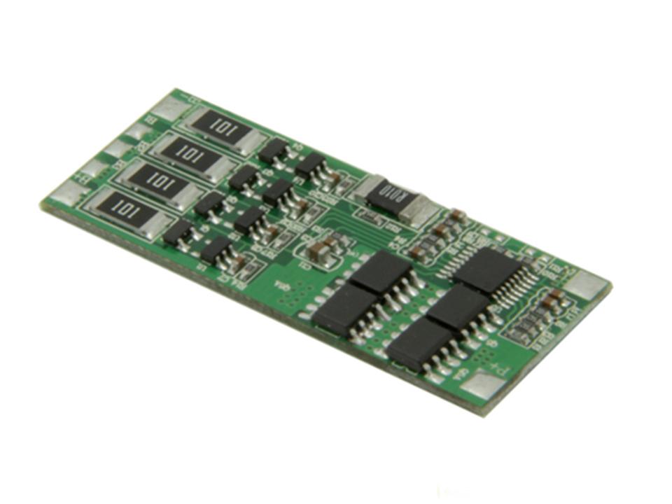 3-4串8A HCX-D119同口电量计电池保护板