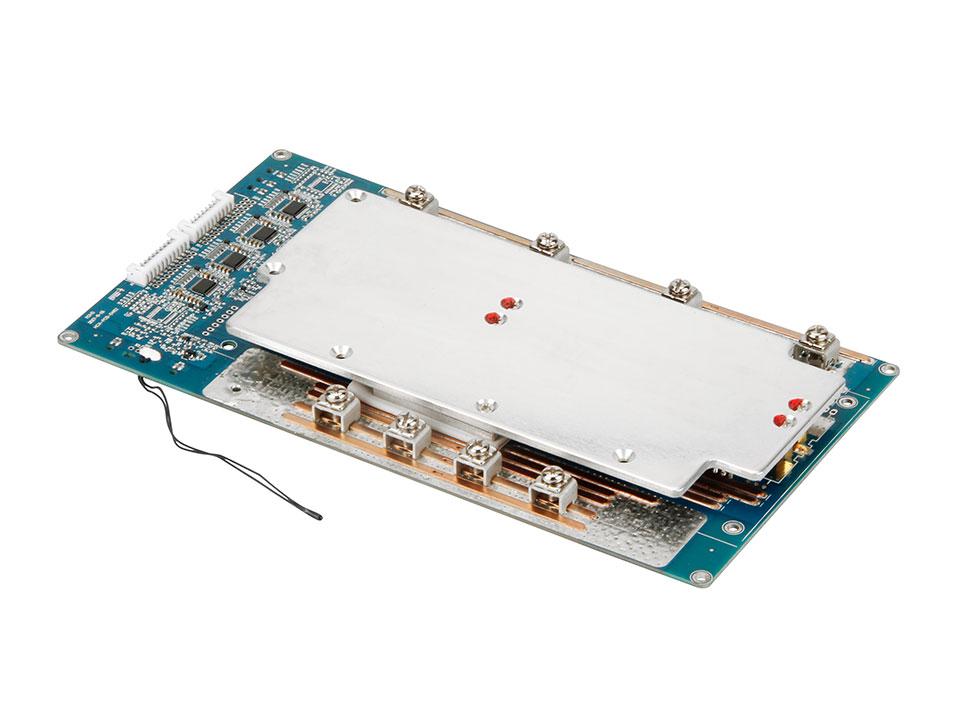 17串100A同口带均衡锂离子电池保护板