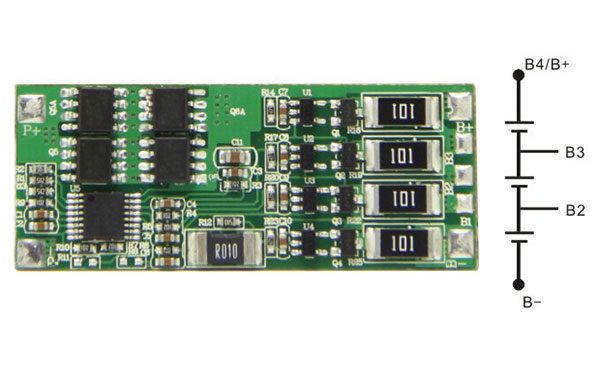 简单说下锂电池保护板接线方法